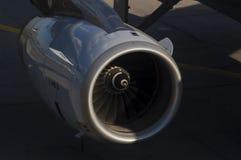 De Motor van het vliegtuig Stock Afbeelding