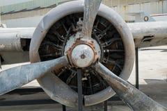 De Motor van het vliegtuig Royalty-vrije Stock Fotografie