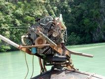 De motor van Longtail Royalty-vrije Stock Foto's