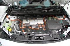 De motor van RENAULT Fluence ZE Stock Fotografie