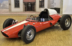De Motor van Rombaldipanhard vanaf 1962, aangedreven door 2 cilinders Stock Foto