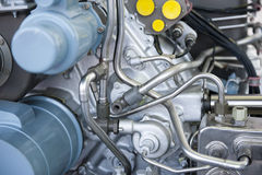 De motor van vliegtuigen Stock Afbeelding