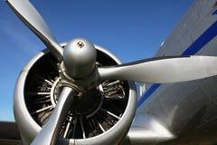 De motor van vliegtuigen Stock Afbeeldingen