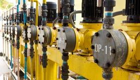 De motor van waterleidingsbedrijven Stock Foto's