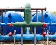 De motor van waterleidingsbedrijven Stock Fotografie