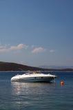 De motorboot van de luxe Stock Foto's