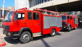 De Motoren van de brand Stock Afbeeldingen