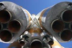 De Motoren van de raket stock fotografie