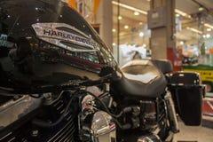 De motorfiets toont 2012 - Brazilië - São Paulo Stock Fotografie
