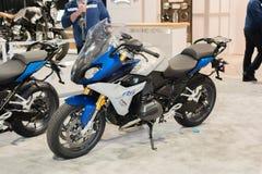 DE MOTORFIETS VAN BMW RS 1200 R 2015 Stock Afbeelding