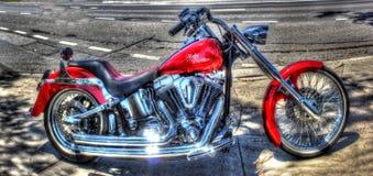 De motorfiets van Davidson van Harley royalty-vrije stock foto