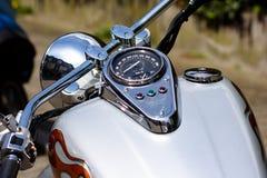 De motorfiets van de glamour Stock Afbeelding