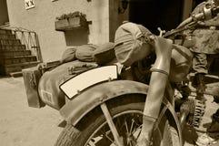 De motorfiets van de oorlog Stock Afbeeldingen