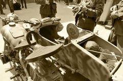 De motorfiets van de oorlog Royalty-vrije Stock Afbeeldingen