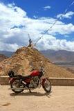 De motorfiets van de reis Stock Afbeeldingen