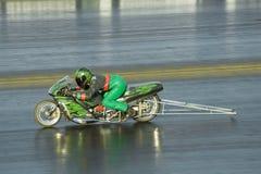 De motorfiets van Dragster royalty-vrije stock afbeelding