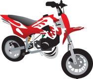 De motorfiets van het stuk speelgoed Royalty-vrije Illustratie