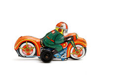 De motorfiets van het stuk speelgoed Stock Foto's