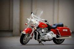 De motorfiets van het stuk speelgoed royalty-vrije stock foto