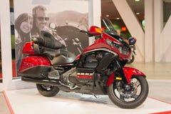 De motorfiets van Honda Gold Wing 2015 Royalty-vrije Stock Afbeeldingen