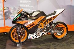 De motorfiets van KTM RC 390 Stock Afbeelding