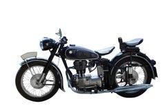 De motorfiets van Oldtimer stock afbeeldingen