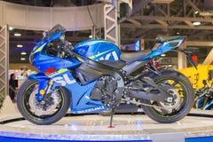 De motorfiets van Suzuki gsx-R1000 2015 Royalty-vrije Stock Foto