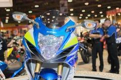 De motorfiets van Suzuki gsx-R1000 2015 Stock Afbeelding