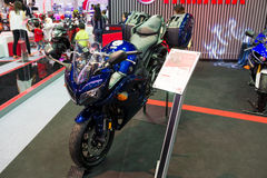 De Motorfiets van Yamaha op vertoning Royalty-vrije Stock Foto