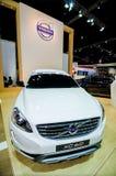 De motorshow van Volvo xc60 Thailand. Royalty-vrije Stock Afbeelding