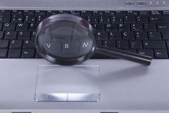 De motortechnologie van het onderzoek stock foto