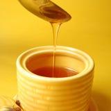 De motregen van de honing Stock Afbeelding