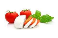 De mozarella van de tomaat Royalty-vrije Stock Afbeeldingen