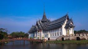 ` De Muangboran de ville antique ou de ` dans la langue thaïlandaise à la province de Samutprakan, Thaïlande Photographie stock libre de droits