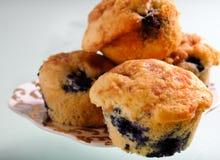 De muffin van de bosbes royalty-vrije stock afbeeldingen