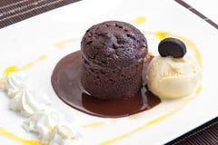 De muffin van de chocolade Royalty-vrije Stock Foto