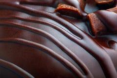 De Muffin van de Chocoladeschilfer Stock Foto