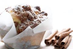 De muffin van de kaneel Royalty-vrije Stock Foto's