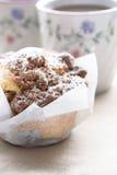 De muffin van de kaneel Stock Afbeelding