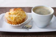 De Muffin van de mango Royalty-vrije Stock Foto's