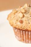 De Muffin van de Noot van de banaan Royalty-vrije Stock Foto