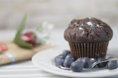 De muffin van de valentijnskaartendag Royalty-vrije Stock Fotografie