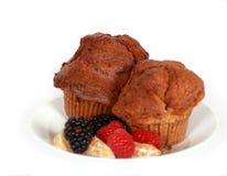 De Muffin van de wortel Stock Afbeelding