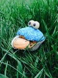De muffin van het koekjesmonster stock foto's