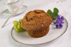 De muffin van zemelen Stock Afbeelding