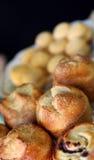 De muffinontbijt van Pastery Stock Foto