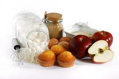 De Muffins van de appel Stock Foto