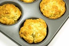 De muffins van de banaan Stock Fotografie
