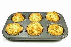 De muffins van de banaan Royalty-vrije Stock Foto