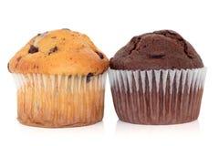 De Muffins van de Chocoladeschilfer Royalty-vrije Stock Afbeelding